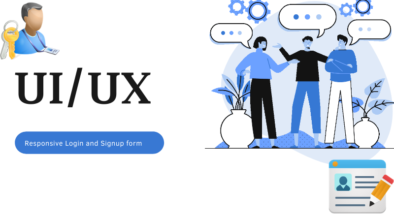 Responsive Login and Signup Form