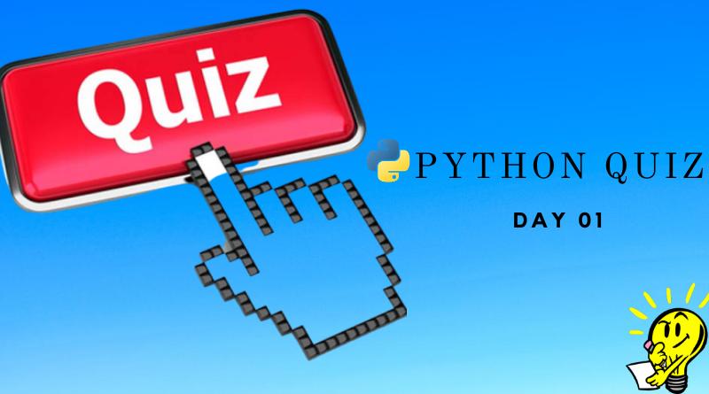 Python Quiz 01
