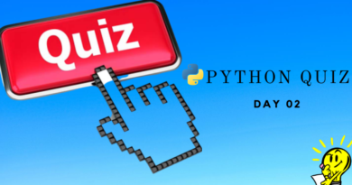 Python Quiz Day Two