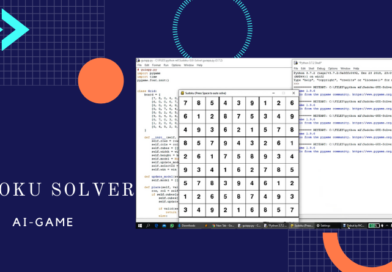 Sudoku Solver - AI GAME