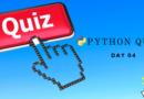 Python Quiz Day Four