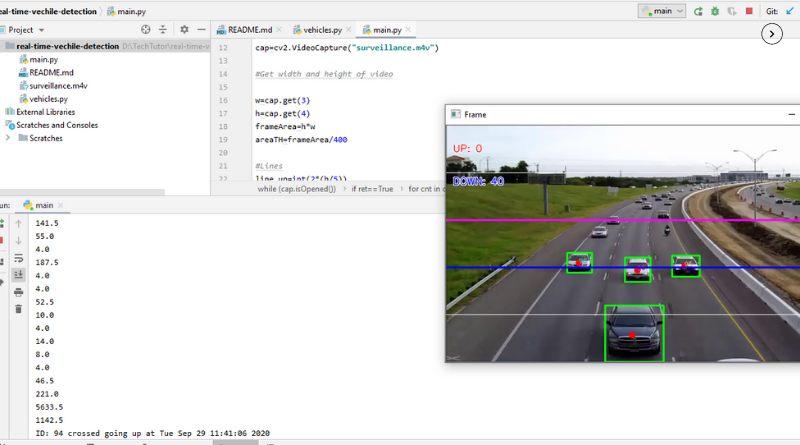 A computer vision-based vehicle detection and counting system – AI Project