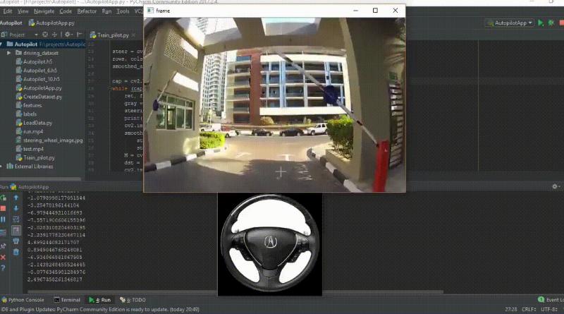 An Intelligent Autopilot System that Learns Drive