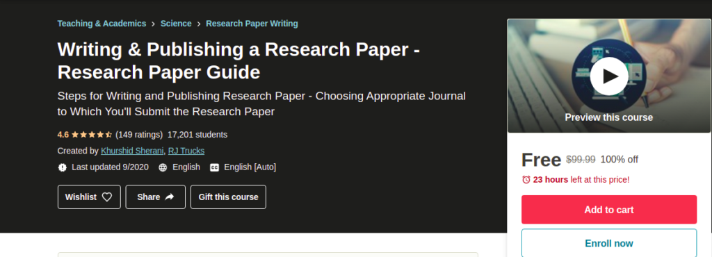 Writing & Publishing a Research Paper - Research Paper Guide